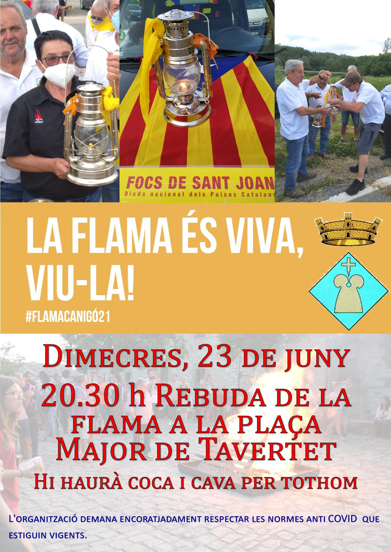 2021 Cartell Flama Canigó Tavertet